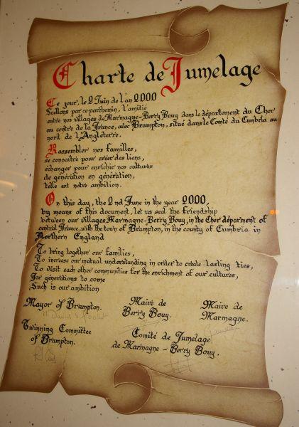 LA CHARTE DE JUMELAGE imgp00041